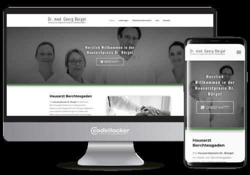 Referenz / Projekt: Hausarzt Dr. Bürgel