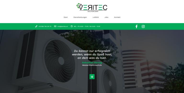 Webseite: Veritec Solution