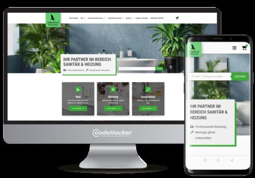 Referenz / Projekt Adlerblick Onlineshop